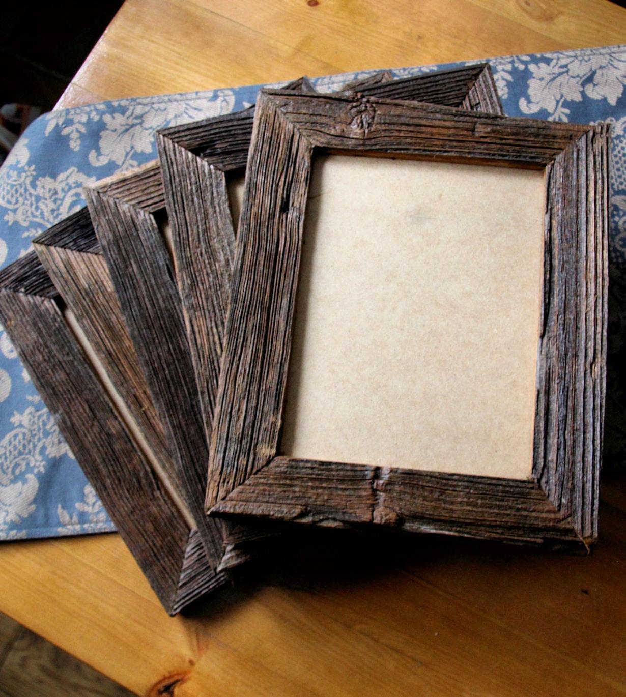 Photo frame-staré drevo.Vintage.10x15cm