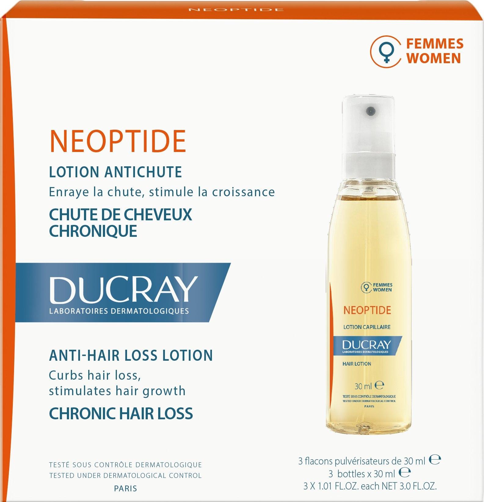 DUCRAY Neoptide 3x30ml P / WYK. Dámske vlasy -080