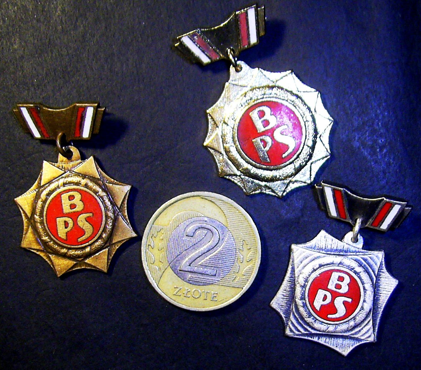 BPS komplet odznak BRYGADA PRACY SOCJALISTYCZNEJ