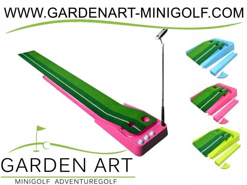 Mat pre mini Golf, mini Golf, ružová