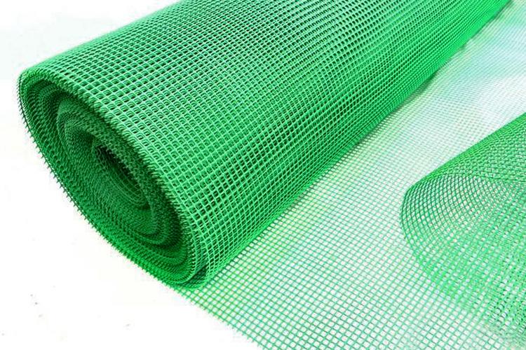 Siatka ogrodzeniowa na KRETY 1,20x50m ZIELONA PCV Waga produktu z opakowaniem jednostkowym 15 kg