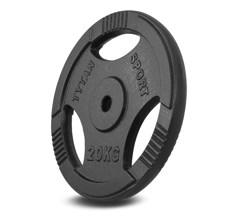 Zariadenie železného zaťaženia Volant Titan Sport 20 kg