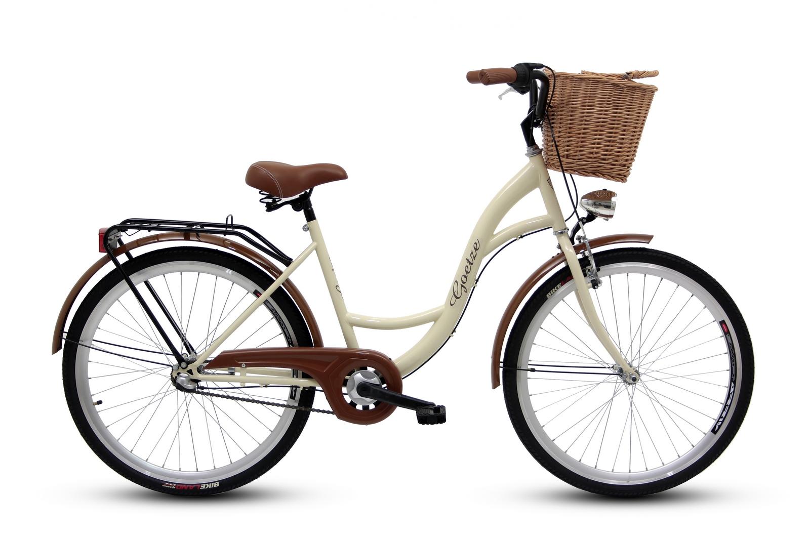 """Dámsky mestský bicykel GOETZE 26, 3-rýchlostný kôš zadarmo!  Veľkosť kolies ("""") 26"""