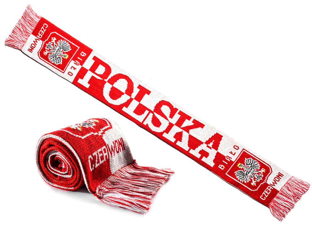 Szalik Polska šája fanúšik poľského národného tímu2