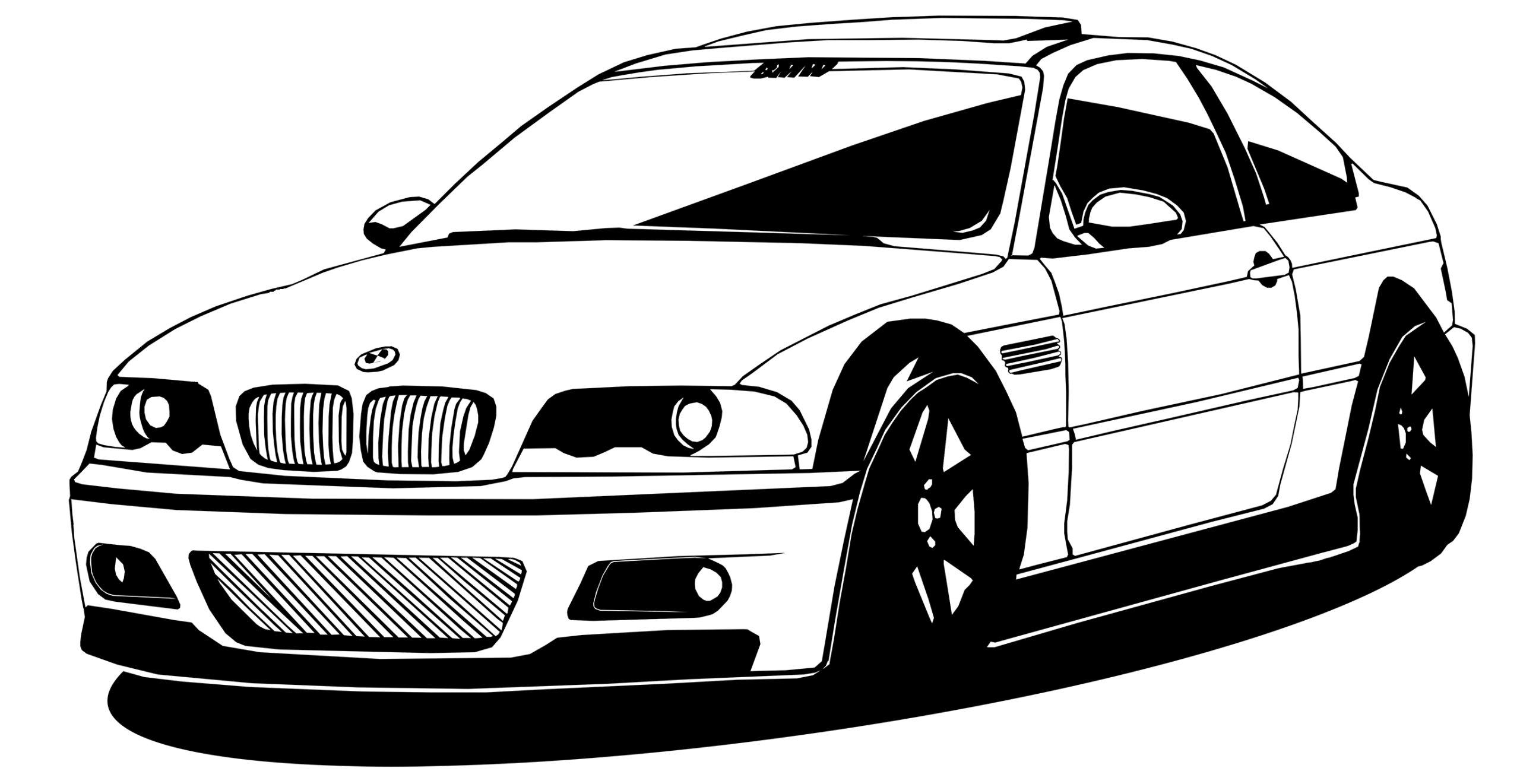 STENY ODTLAČKOVÝ BMW E46 NEMECKÉHO VINTAGE 50x100CM