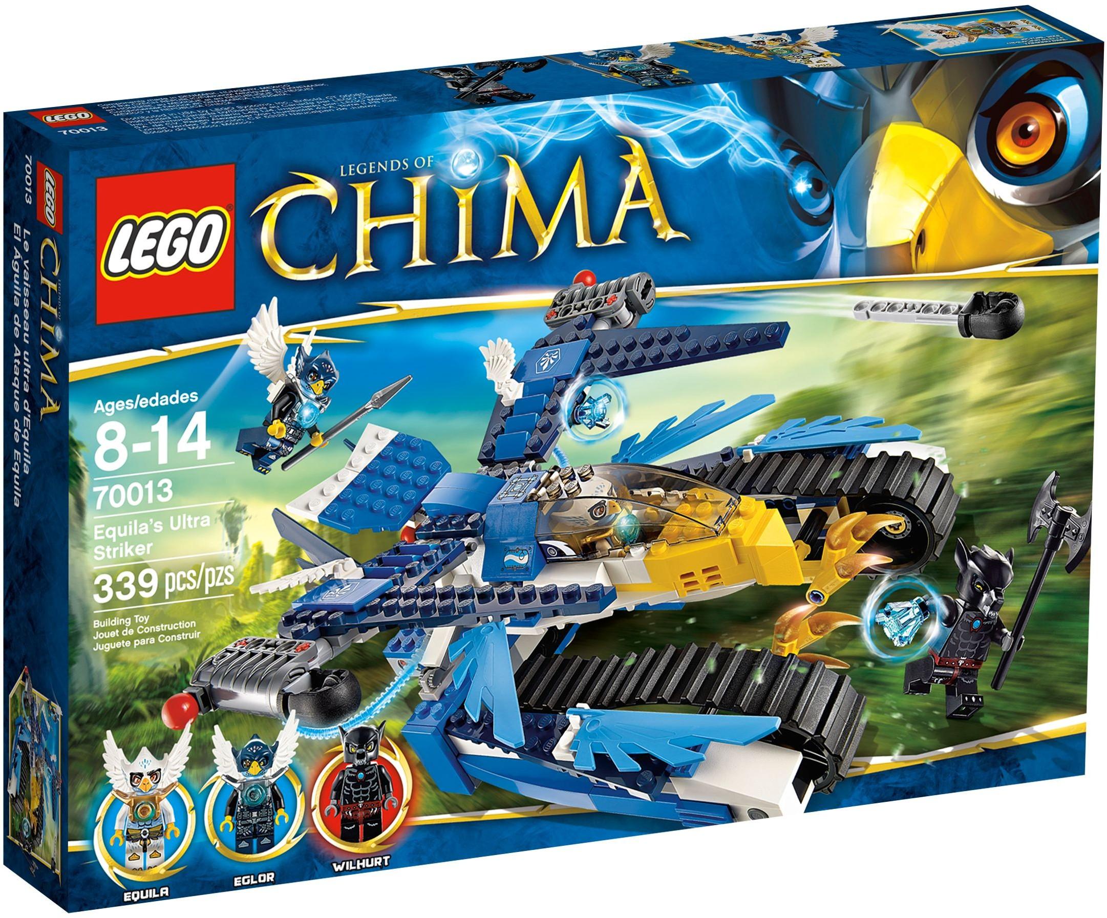 Lego Chima 70013 Equil Orzeł Black Wolf - Nový!