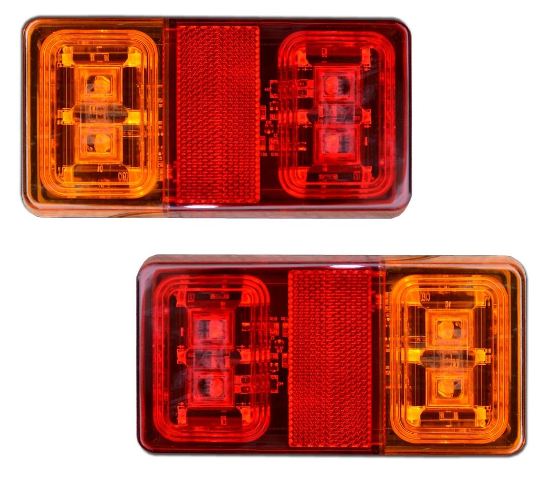 Светодиодный задний фонарь для прицепа LAWETY