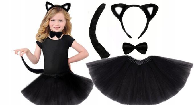 Item COSTUME CAT suit COSTUME CAT ears are SET 4el.