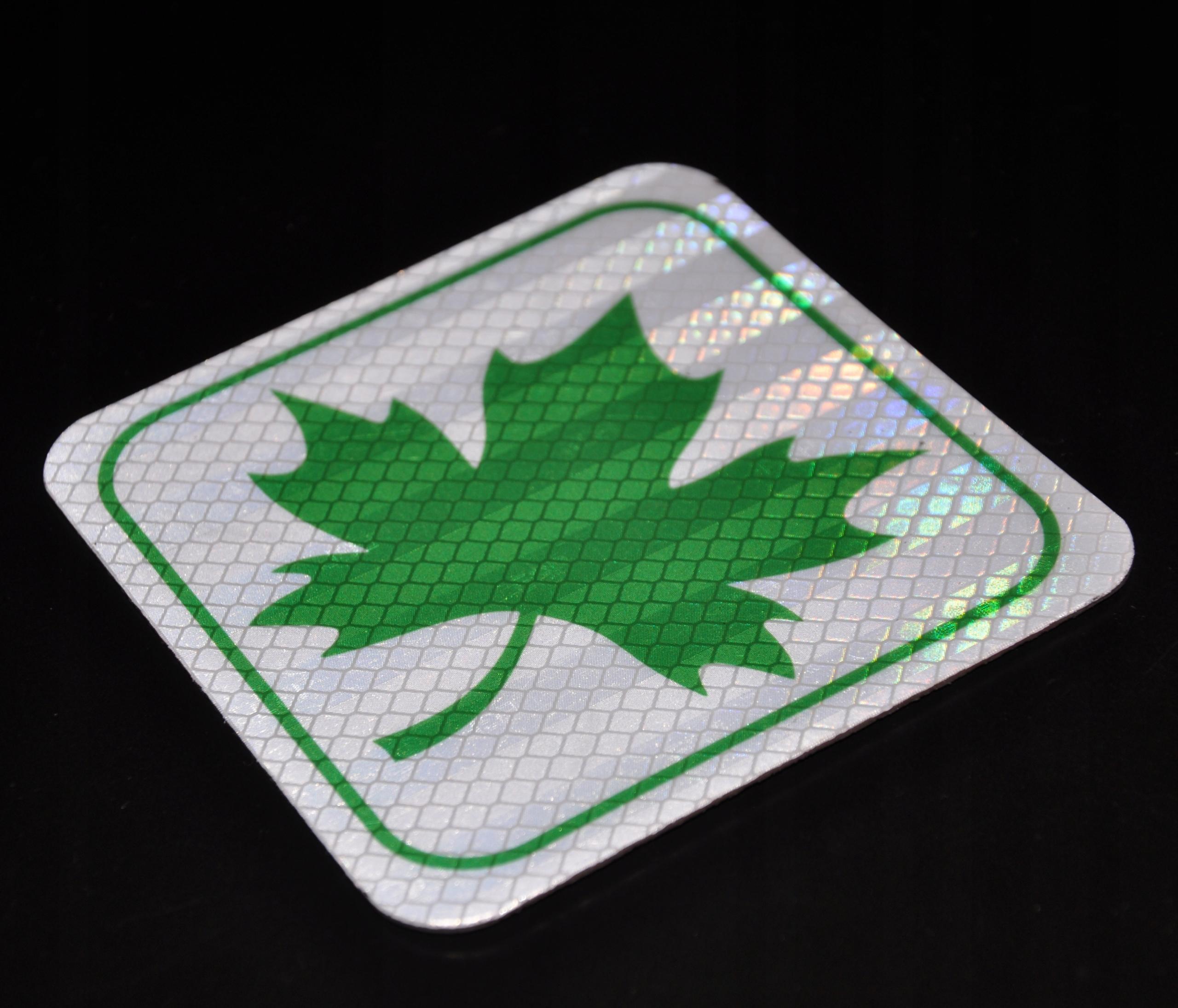 Magnes Lisc Listek Odblask Znak Mlodego Kierowcy 7630088423