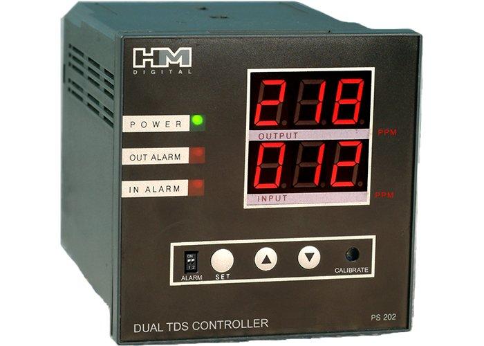 Monitor Dual TDS HM-Digital PS-202 + dual alarm!