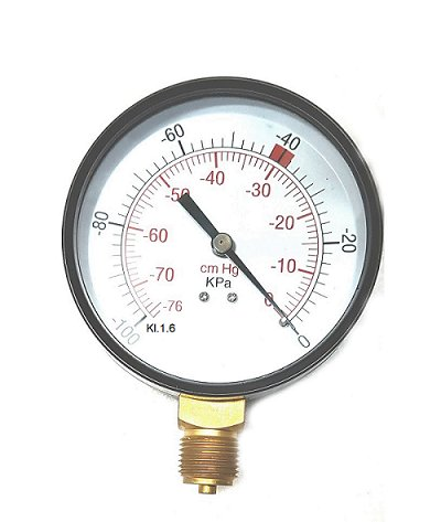 Vákuumometer Vákuum pre dojenku 63mm