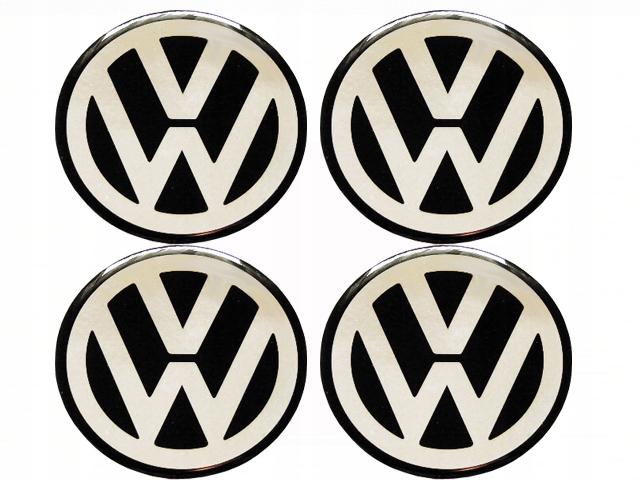 VW 90-мм ЭМБЛЕМЫ НАКЛЕЙКИ НА КОЛЕСАХ ALU RIMS