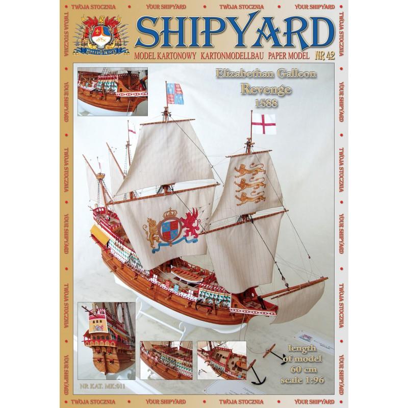 SHIPYARD 42 - Елизаветинский Галеон REVENGE 1 :96