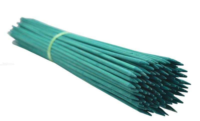 Gombíky bambusu 60 cm 5,5 /6 mm /2500szt/ zelená