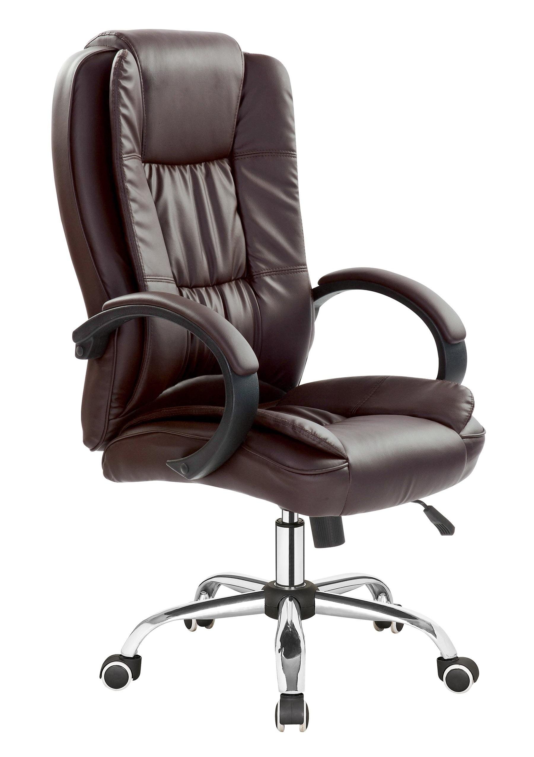 RELAX stolička otočná stolička hnedá HALMAR