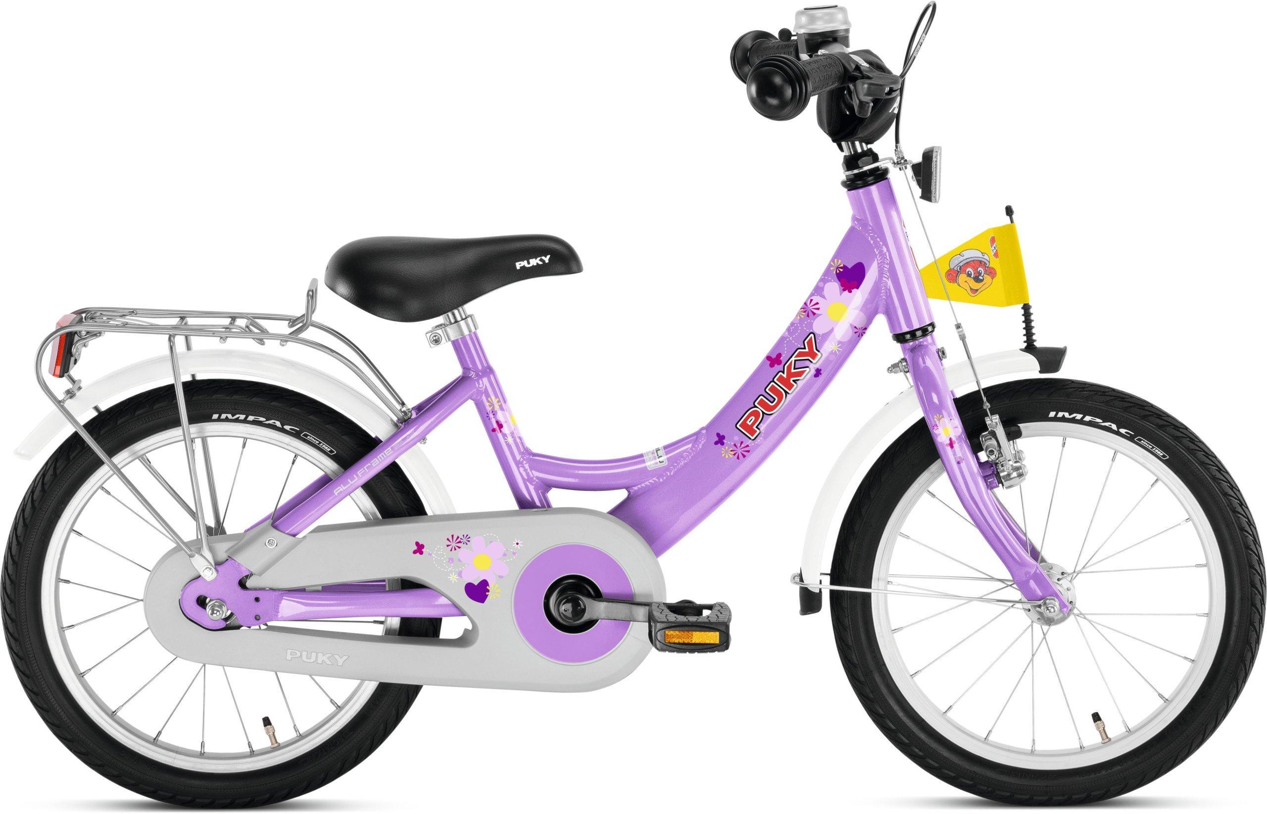 GEOBY detský Bicykel ZL16 Alu 3+ fialová 4224