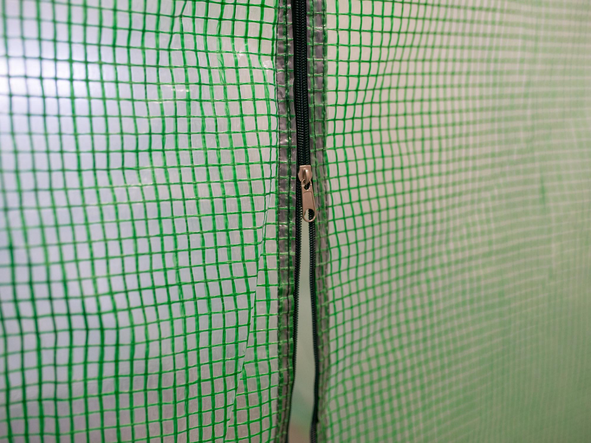 Folia ZAMIENNA 2x3,5m na tunel ogrodowy 7m2 Szerokość 200 cm