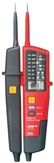 Мультиметр Тестер UNI-T UT18C Индикатор Напряжения и Фаз