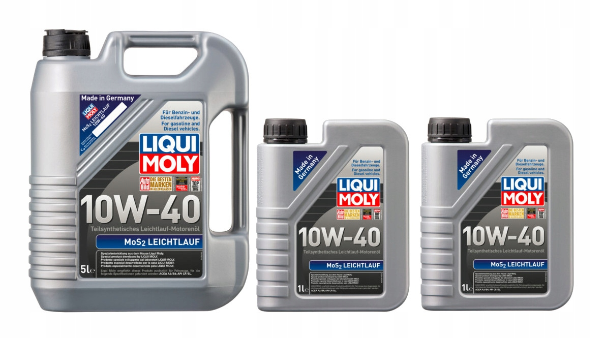 Масло Liqui Moly MoS2 Leichtluf 10W40 7Л / 7 Литров
