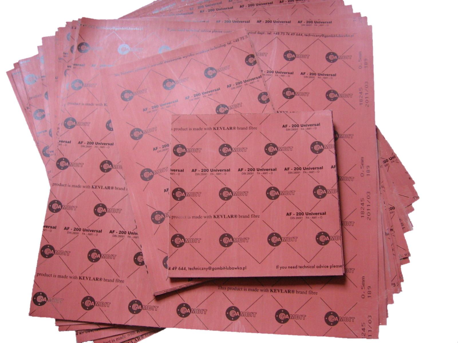 Материал на прокладки 0, 5x500x500mm gambit качество!, фото 1