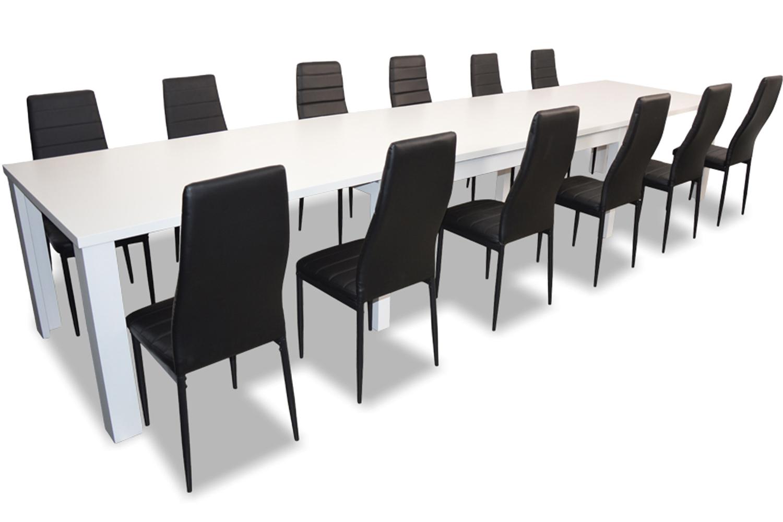 БОЛЬШОЙ комплект стол раскладной для 440 12 СТУЛЬЯ