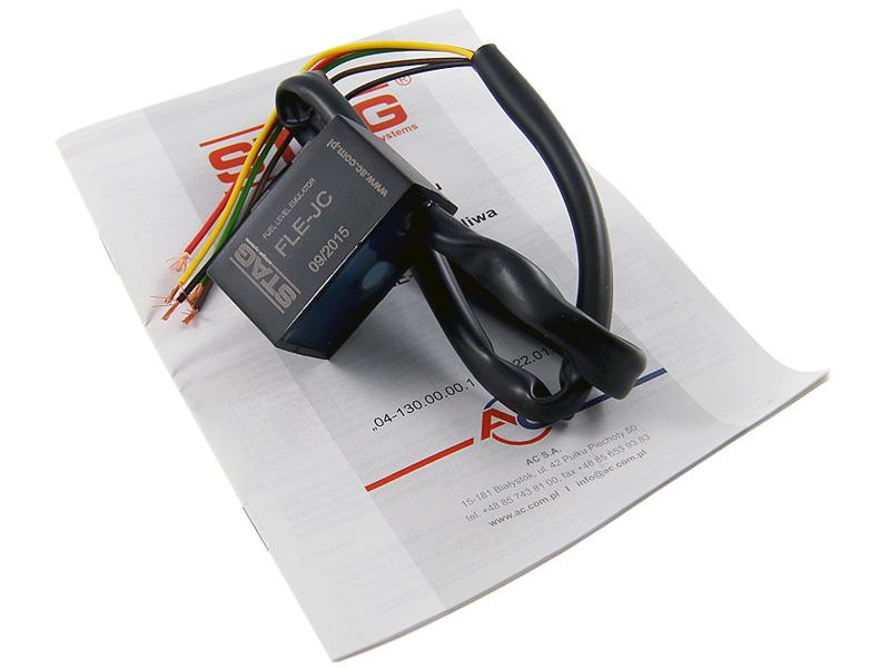 ac fle-jc эмулятор показания уровня топлива снг