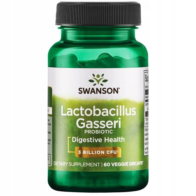 SWANSON PROBIOTYK Lactobacillus GASSERI Jelita 60k