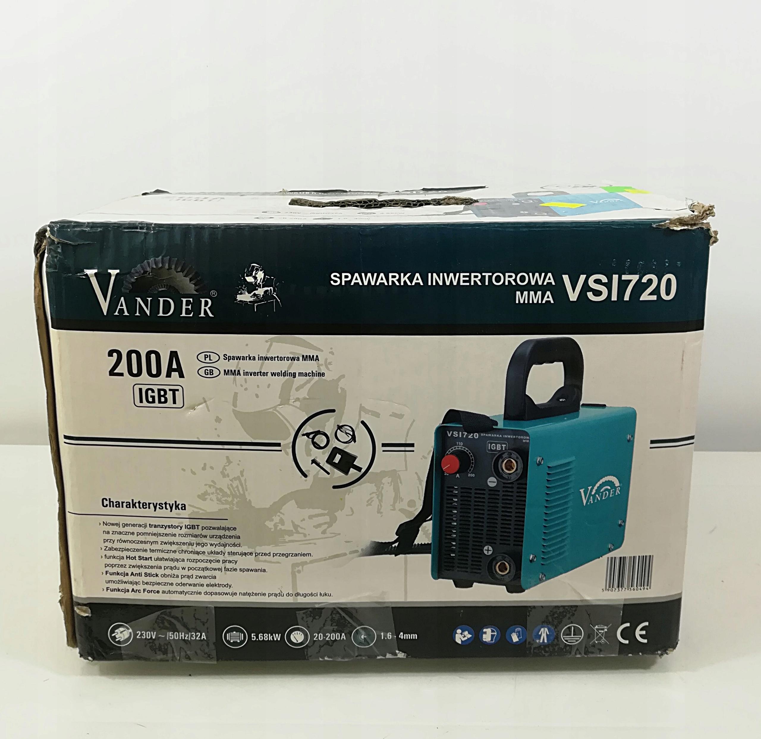 Spawarka Inwertorowa Vander VSI720