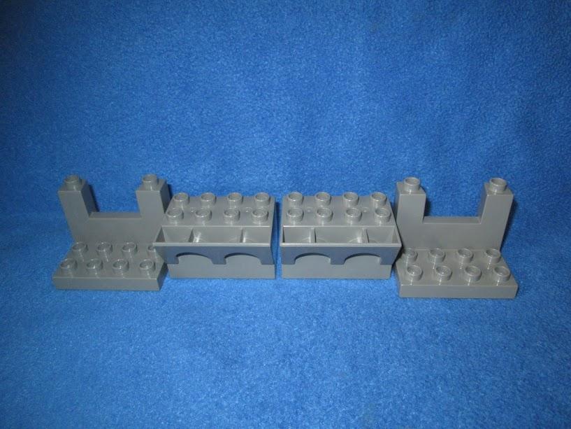 M K Lego Duplo Klocki Elementy Zamku Zamek 4szt 7419870748