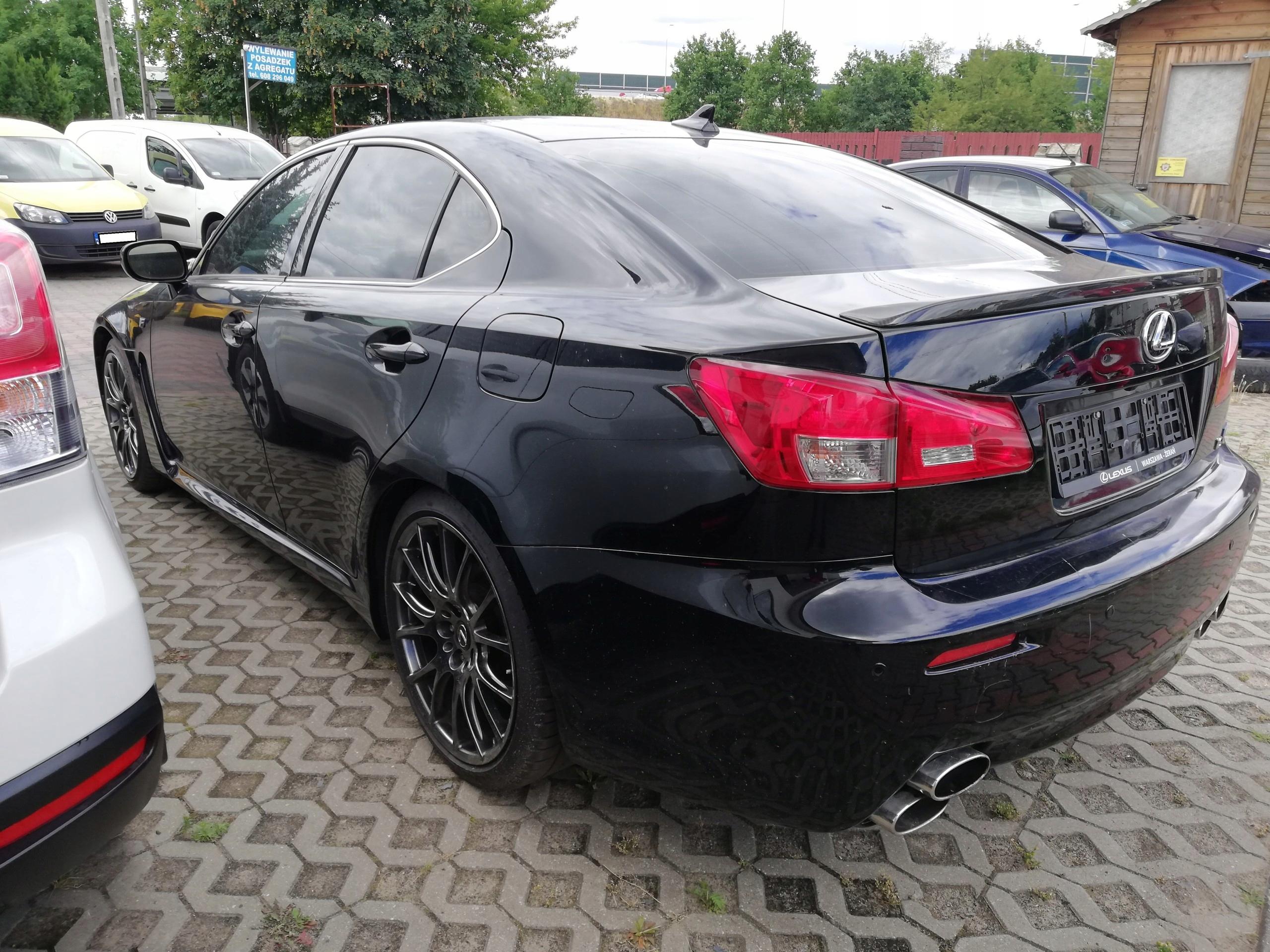 Lexus ISF 5 0 Najbogatsza wersja Sikky Headers - 7432783306
