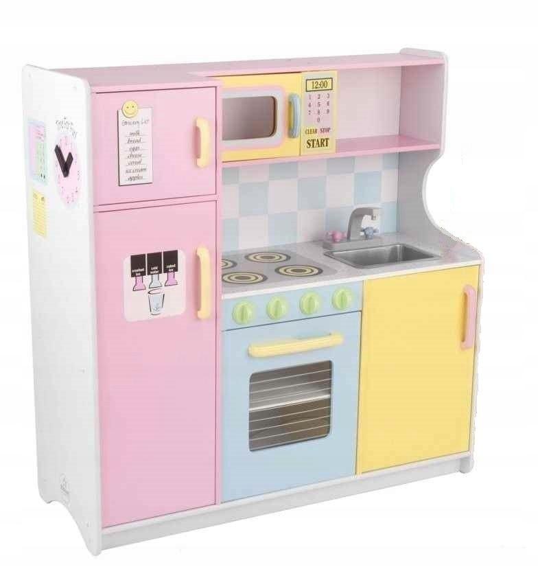Kuchnia Drewniana Dla Dzieci Kidkraft 53181 Pastel