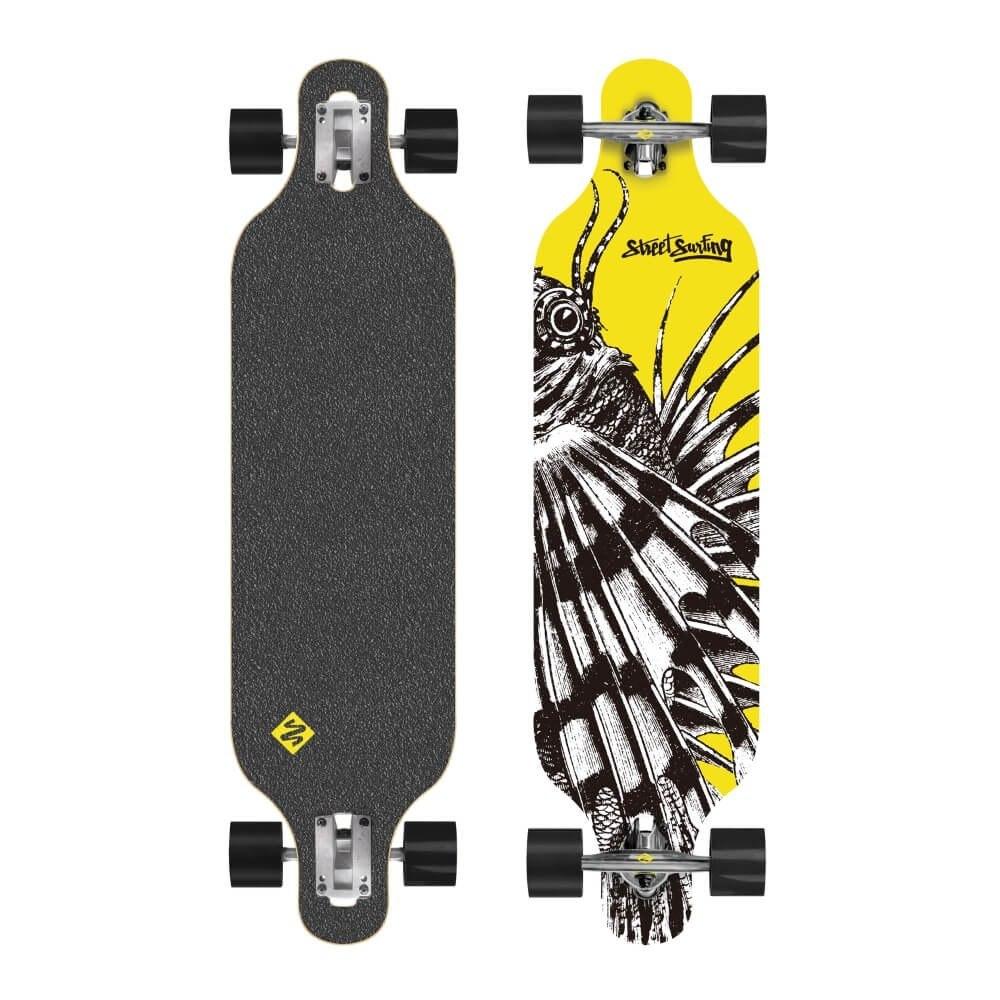 Longboard Street Surfing Freeride Dragon 39 7406322477