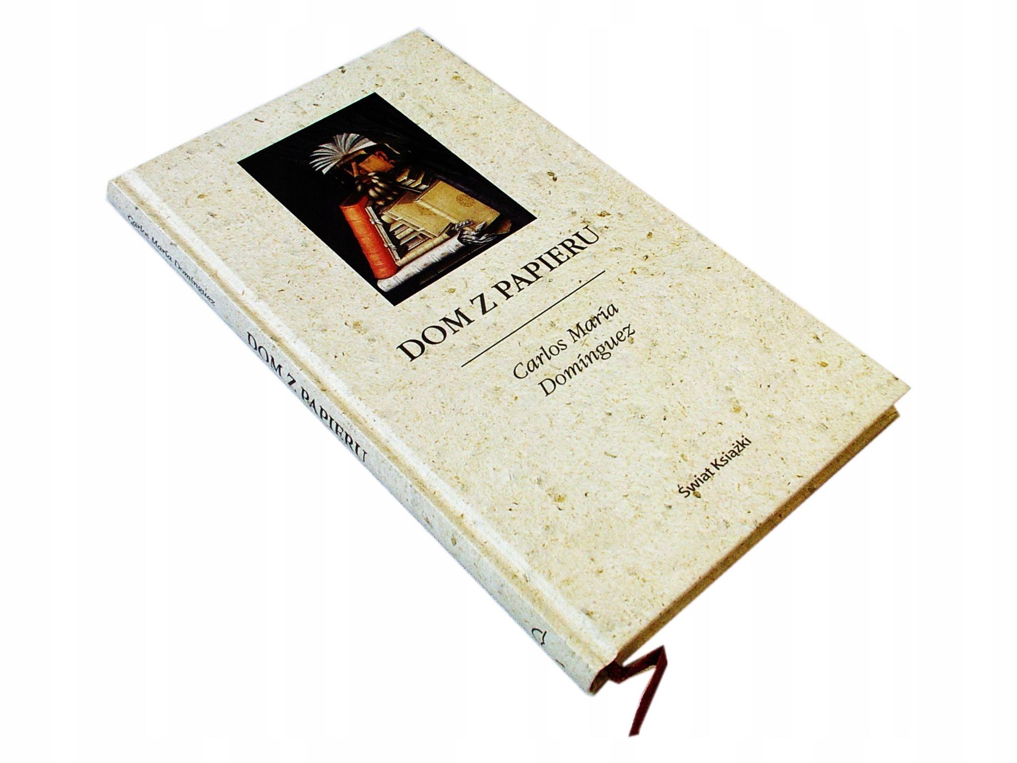 Znalezione obrazy dla zapytania dom zpapieru świat książki