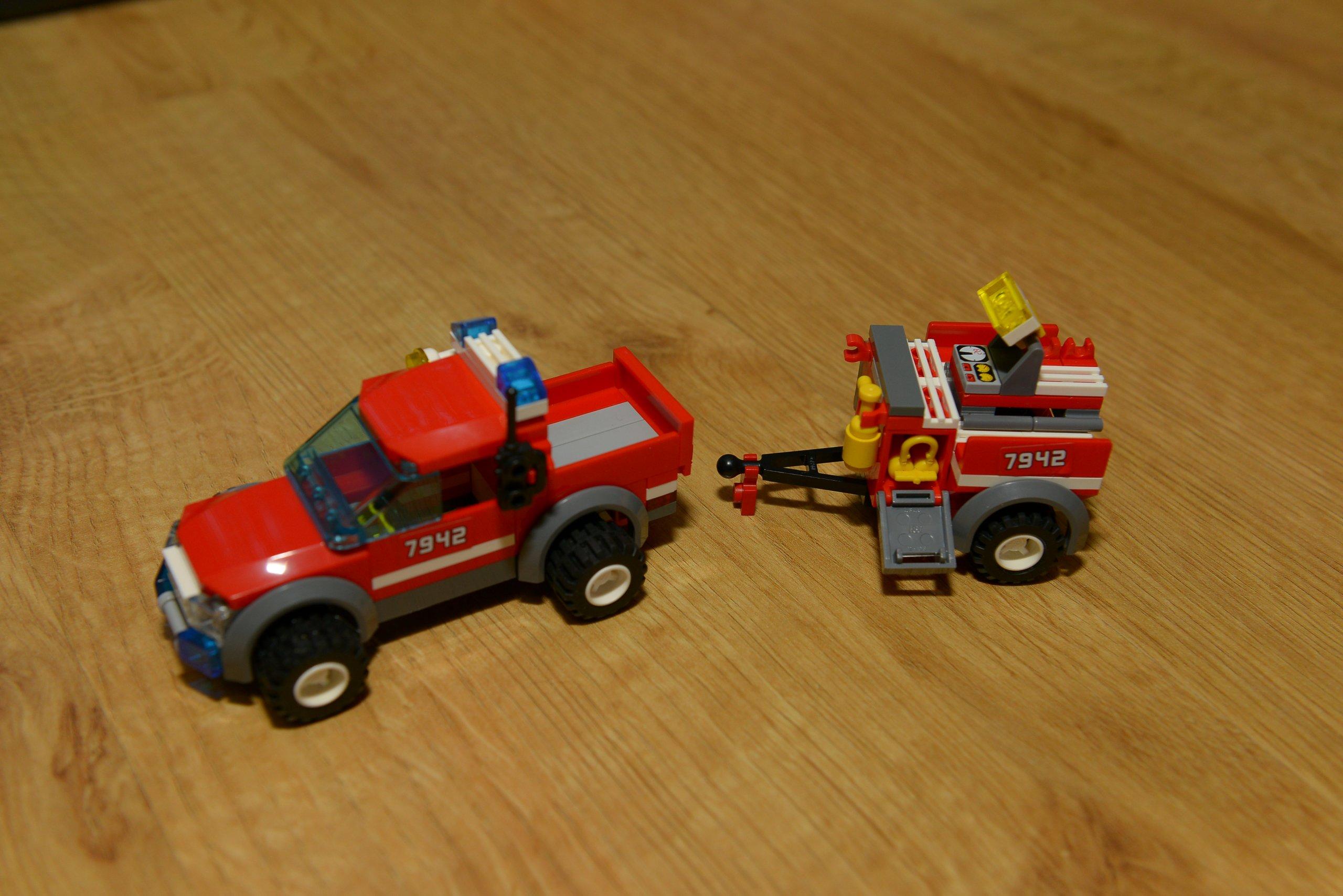 Lego 7942 City Straż Pożarna 7118790292 Oficjalne Archiwum Allegro
