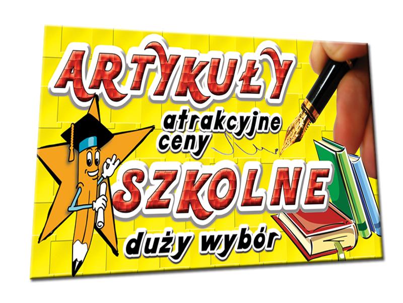 Artykuły Szkolne Książki Zeszyt Baner 2x1m Banery 5573482662