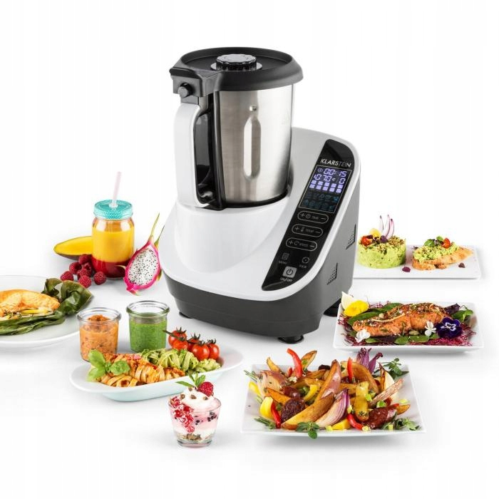 Robot kuchenny Parownik 10 programów 500/1100 W