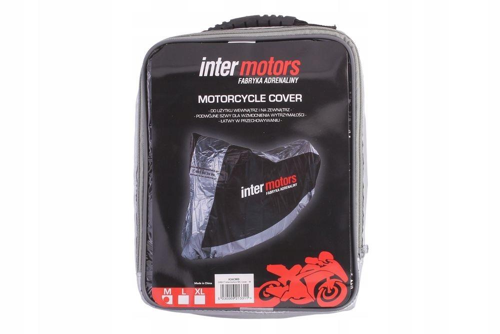 fe5cd1485677b Pokrowiec na motocykl z logo Inter Motors M - 7352784436 - oficjalne ...