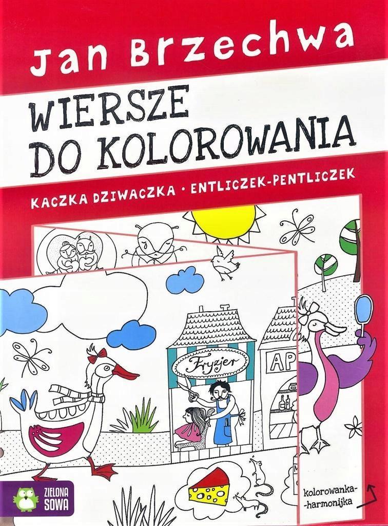Kolorowanka Harmonijka Jan Brzechwa 7586390583