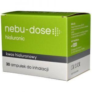 Nebu-Dose Hialuronic roztwór izotoniczny do inhala