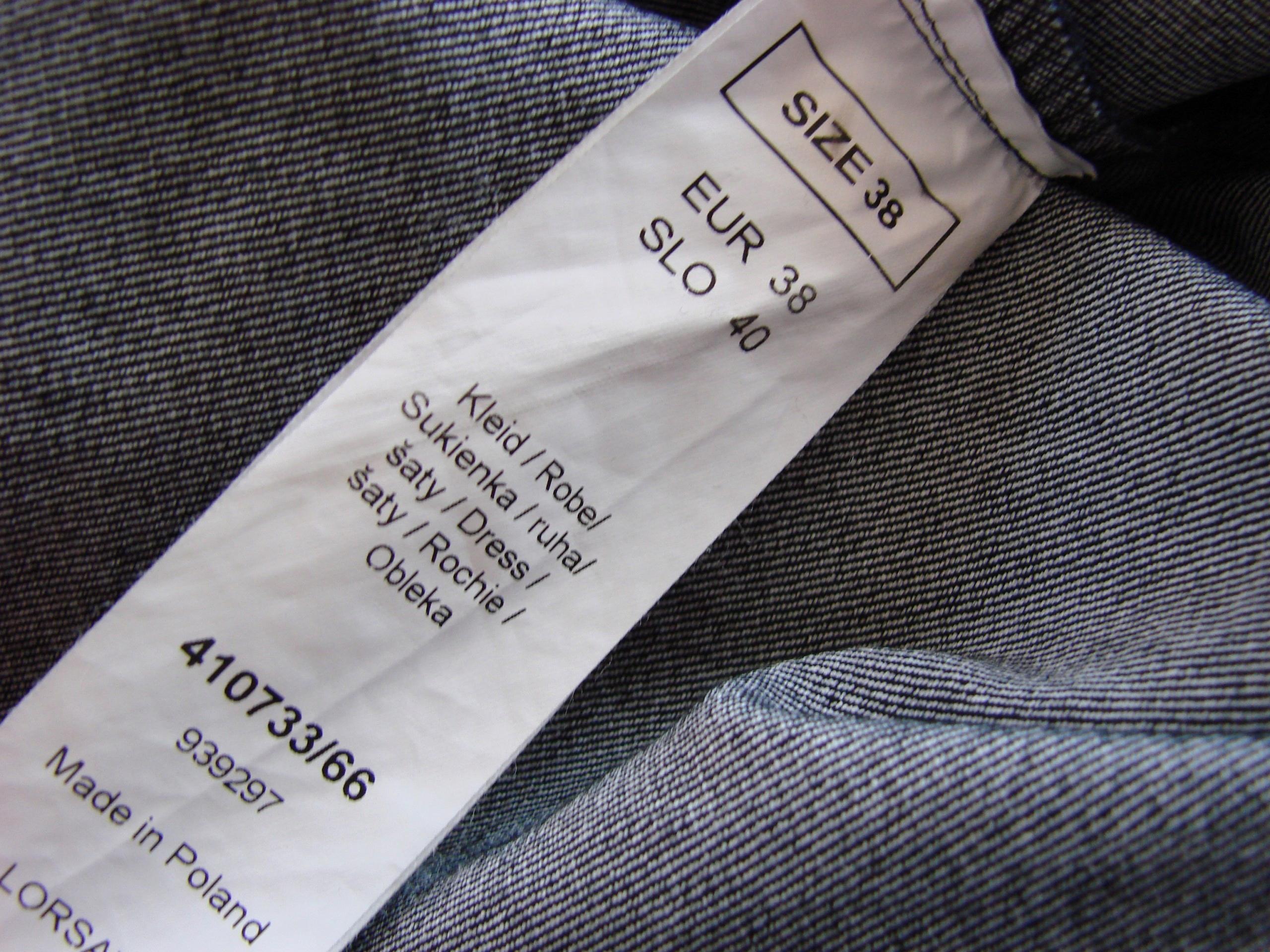 ORSAY 38 M sukienka jeansowa na lato - 7436813253 - oficjalne ... 5f3bc0e3b2