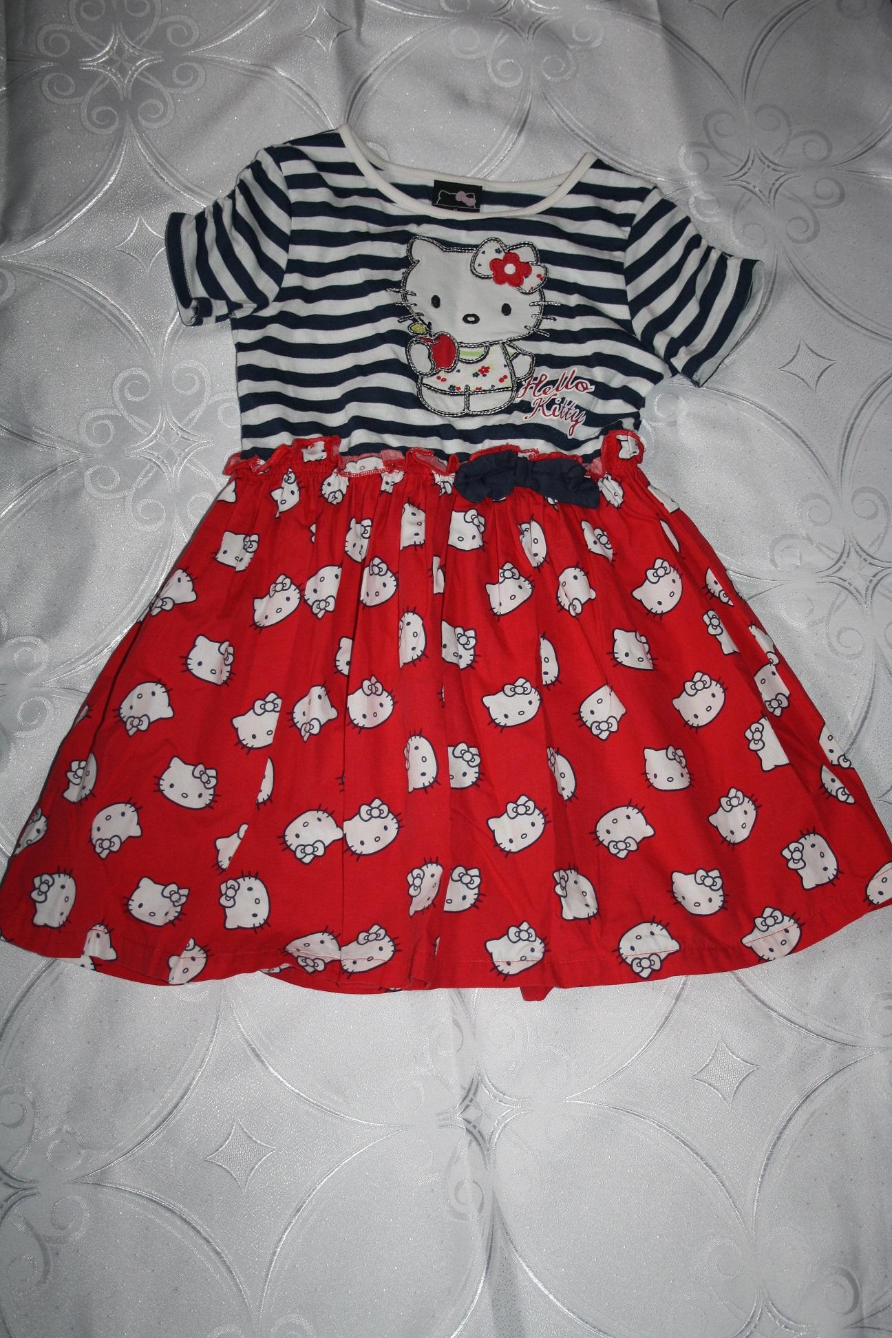 1926717215 Ładna sukienka Hello Kitty George 104 110 - 7290356476 - oficjalne ...