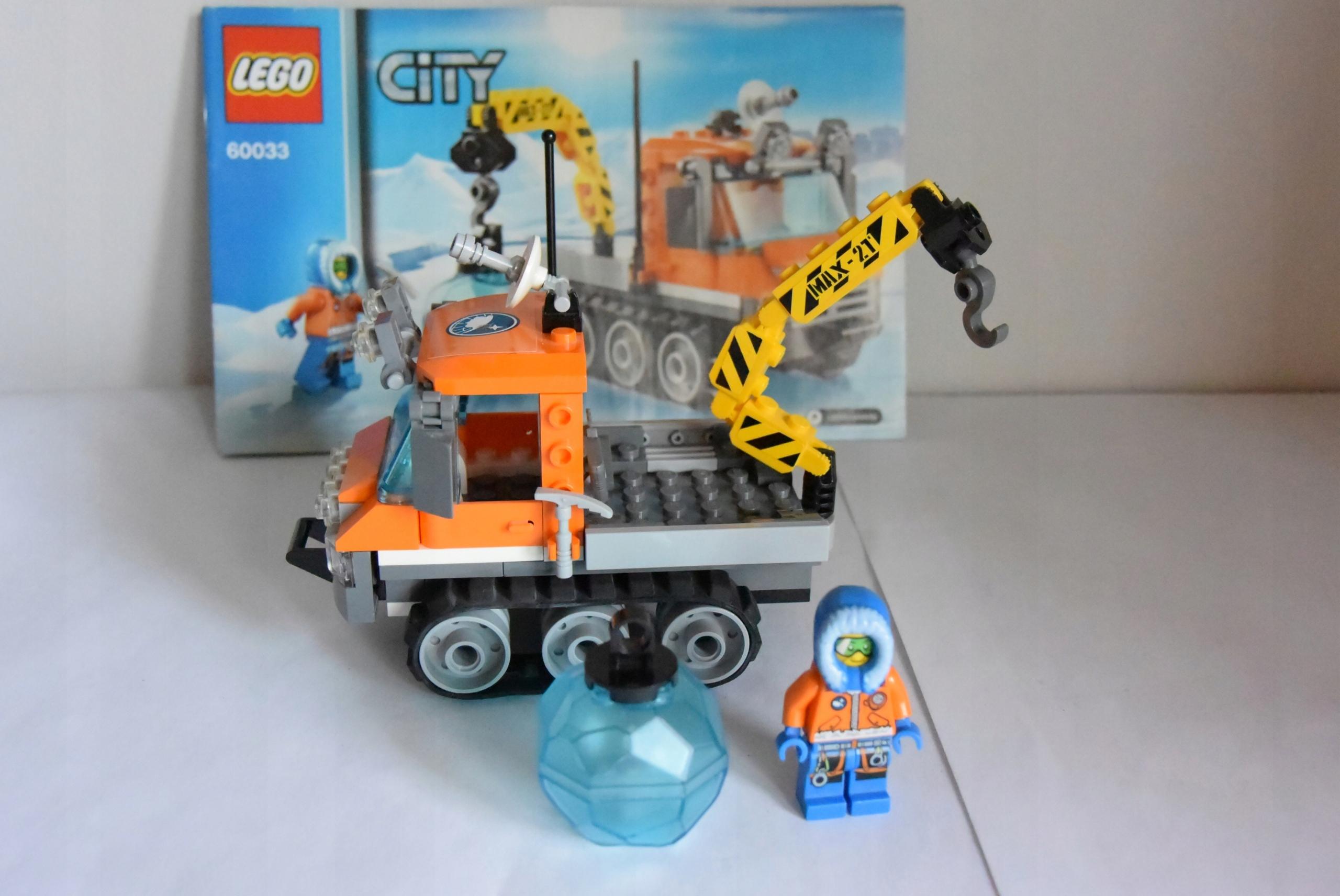 Klocki Lego City Arctic 60033 Arktyczny łazik Lodo 7444781372