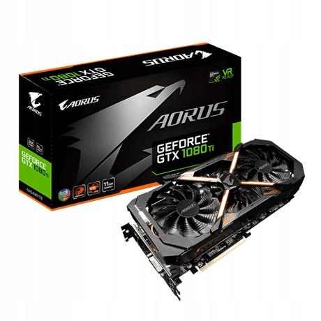 AORUS GeForce GTX 1080 Ti 11G GW FW KRK