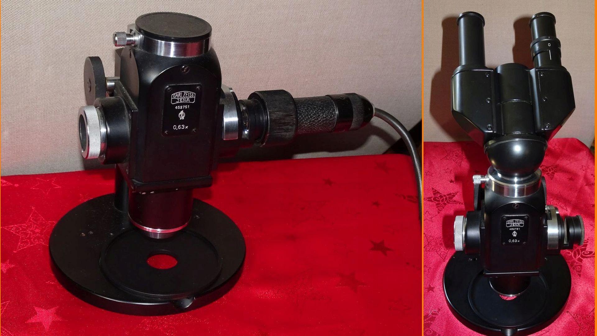 Profesjonalny mikroskop epignost carl zeiss jena