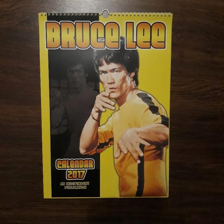 Kalendarz 2017 Bruce Lee
