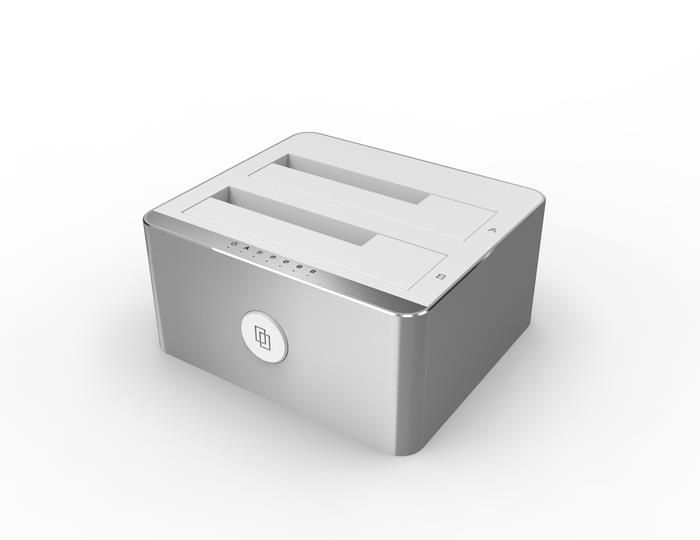 Stacja dokująca Unitek HDD na USB3.1, Y-3027 Alu.