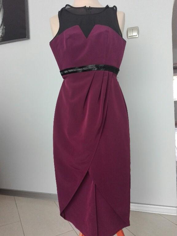 47aeacb8ed Sukienka wieczorowa H M - 7236634538 - oficjalne archiwum allegro
