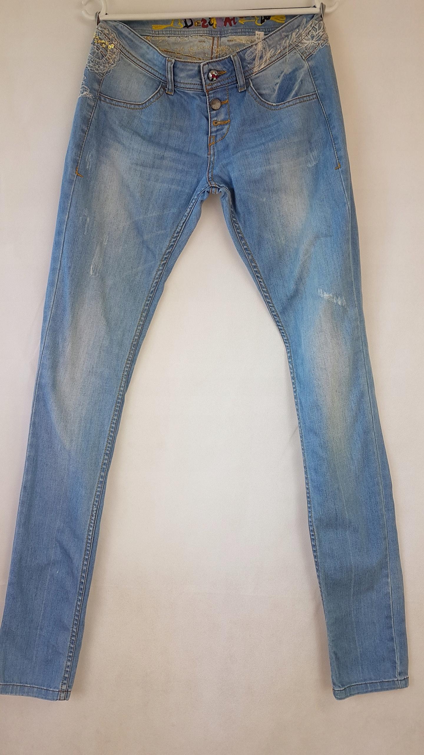 Damskie jeansy Desigual r. 26 7507445310 oficjalne