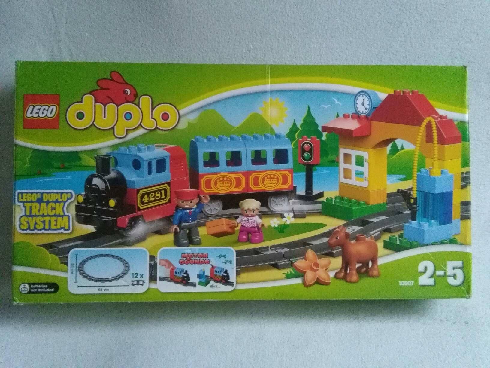Lego Duplo 10507 Mój Pierwszy Pociąg Gratis Tory 7401698591