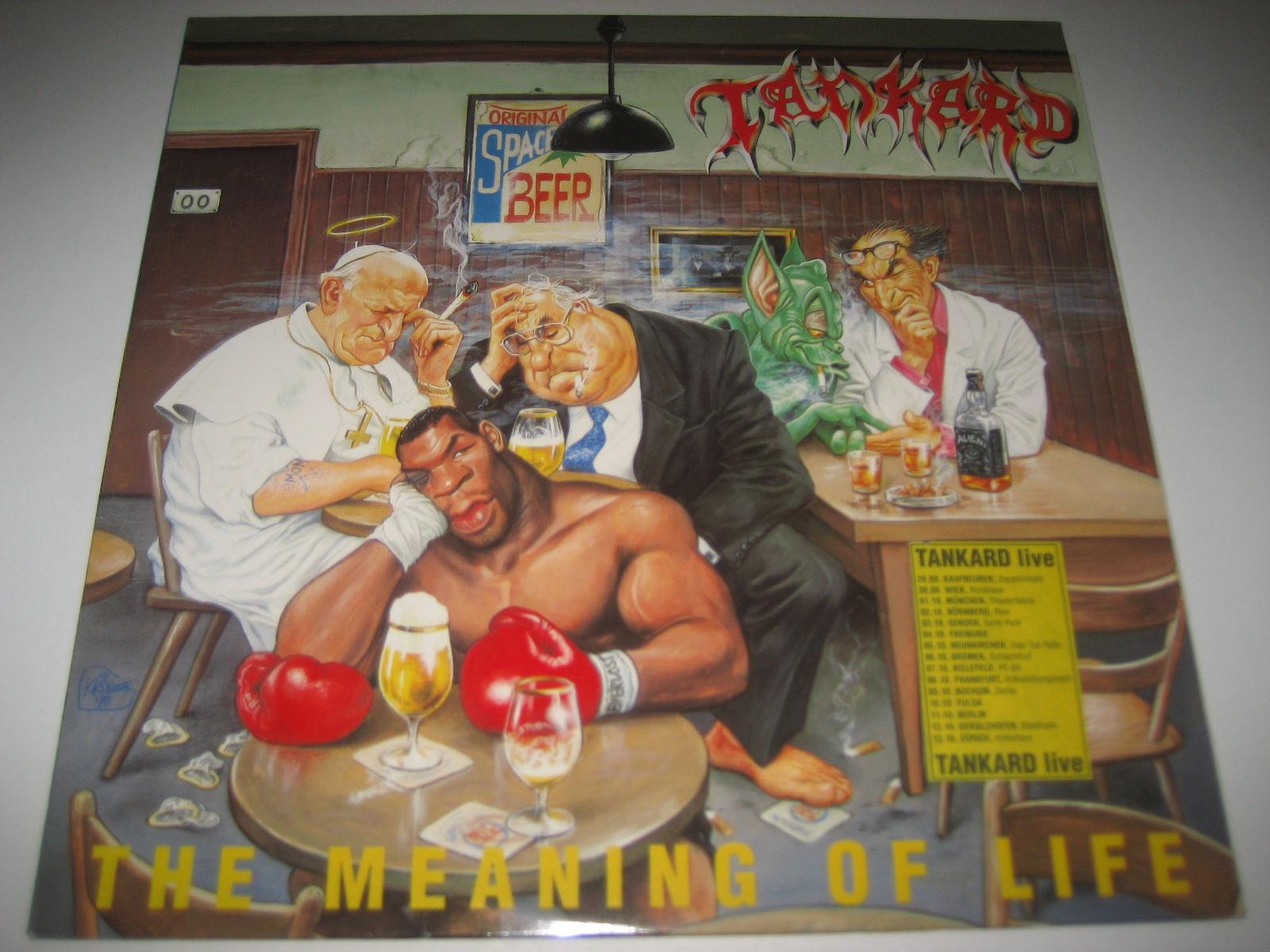 TANKARD - THE MEANING OF LIFE - LP